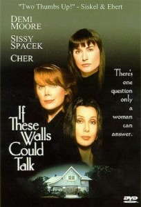 ifthesewalls 204x300 Cher Films