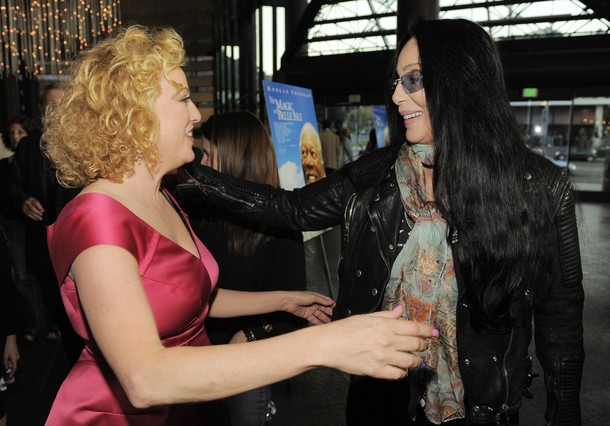 Virginia Madsen related to cher
