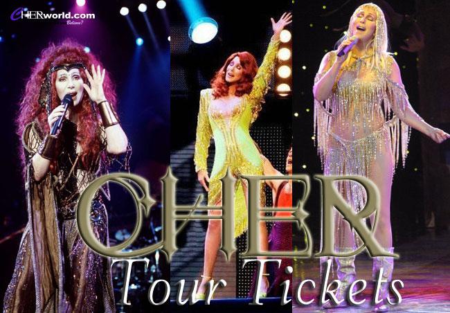 cher tour tickets Cher Tickets
