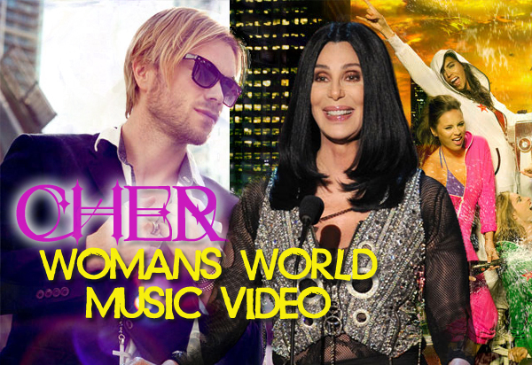 cherwomansworldvideo Ray Kay to Direct Cher Womans World Music Video