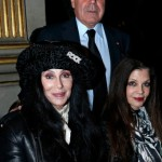 cherbalmain1 150x150 Cher at Balmain runway show Paris with Fergie