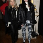cherbalmain10 150x150 Cher at Balmain runway show Paris with Fergie