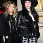 cherbalmain11 150x150 Cher at Balmain runway show Paris with Fergie