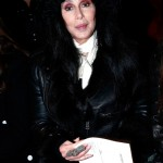 cherbalmain3 150x150 Cher at Balmain runway show Paris with Fergie