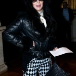 cherbalmain4 150x150 Cher at Balmain runway show Paris with Fergie