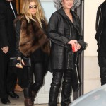 cherfergieparis2 150x150 Cher at Balmain runway show Paris with Fergie