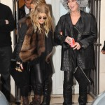 cherfergieparis3 150x150 Cher at Balmain runway show Paris with Fergie