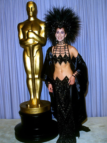 cheroscars4 Chers Dazzling Oscar Fashion Past
