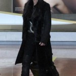 Cher arrives Paris Airport
