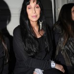 Cher attends Paris Fashion Week