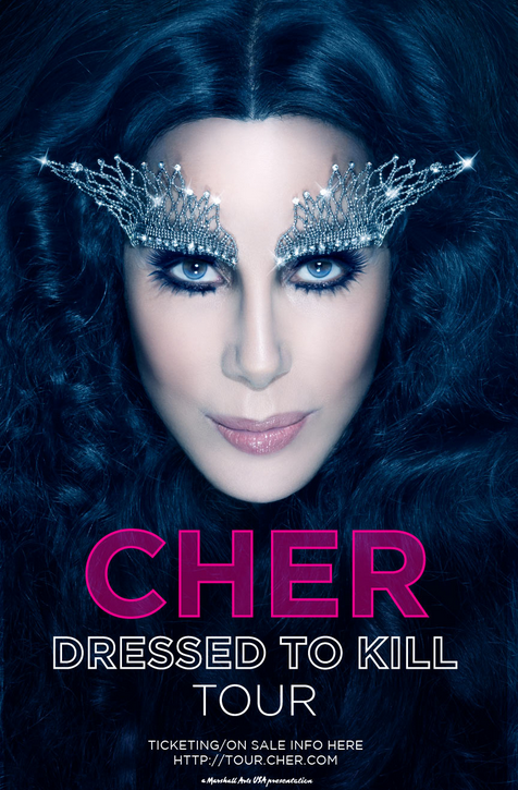 cherdressedtokilltour Cher Dressed To Kill Tour Dates 2014