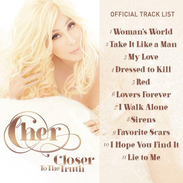 cherstandard Cher Reveals Deluxe Tracklisting