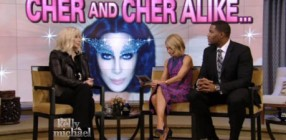 Cher Live Kelly and Michael