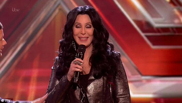 Cher on X Factor UK