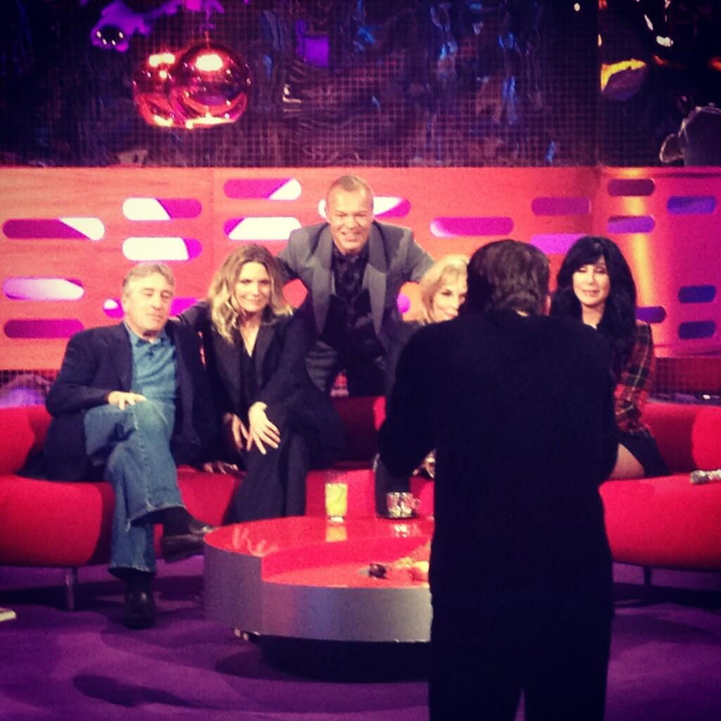 Cher on Graham Norton
