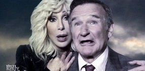 Cher and Robin Williams