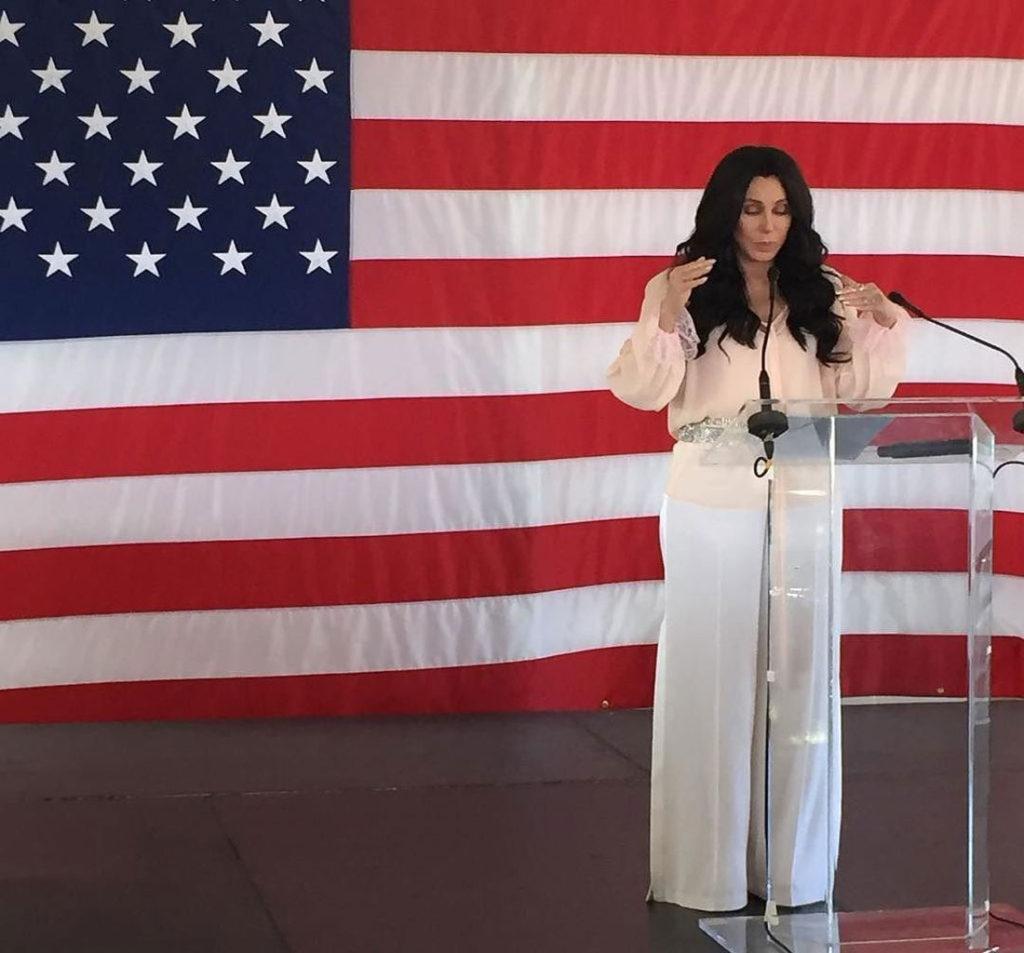 Cher Flag