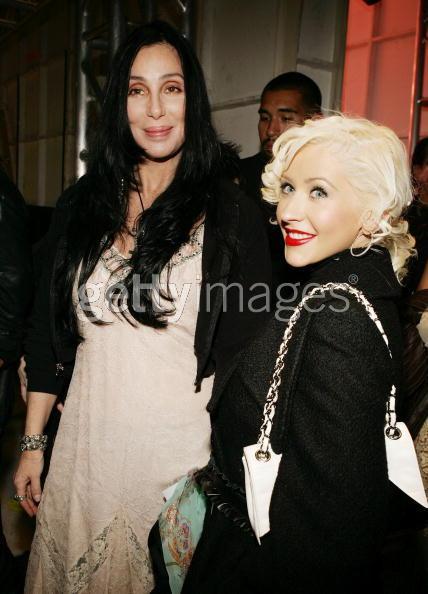 Cher and Christina