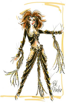 Cher Caesars Palace Costumes