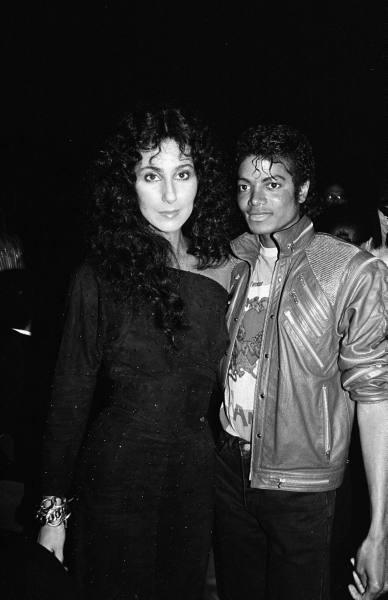 Cher y Michael Jackson