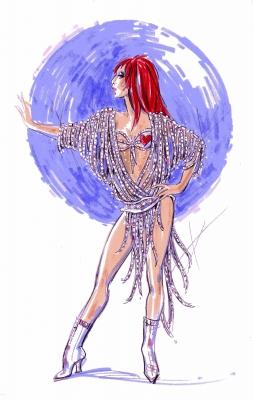 Cher Costume Las Vegas Bob Mackie