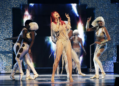 Cher Las Vegas 2010