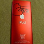 Cher signed Ipod Auction