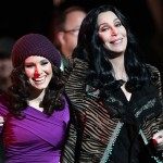 Cher and Kristen Bell on the Set of Bulesque
