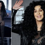 Cher presents award to Lady Gaga at 2010 VMA Awards