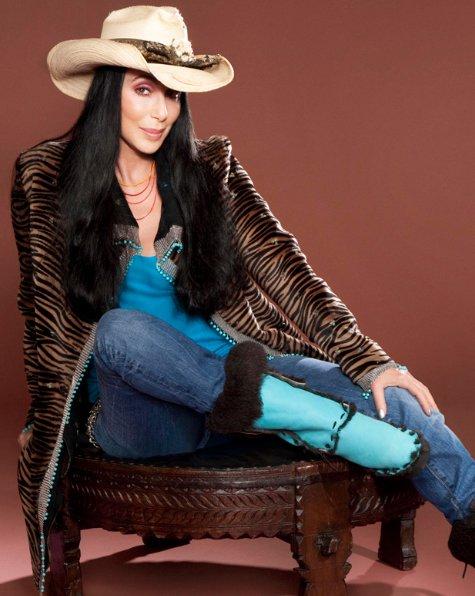 Cher promo Shoot